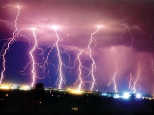 Multiple lightning